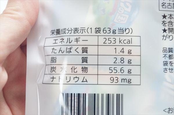ミルクの国の栄養成分
