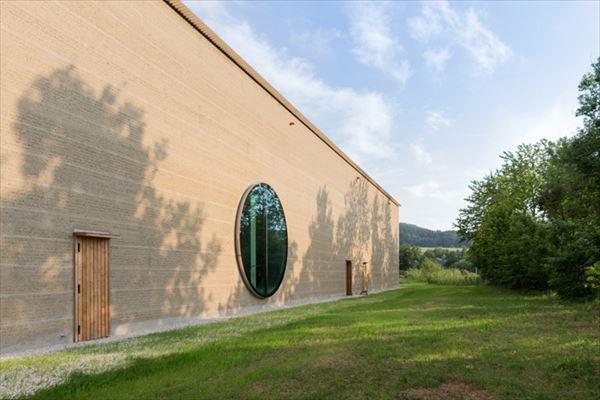スイスにあるリコラ社のハーブセンター